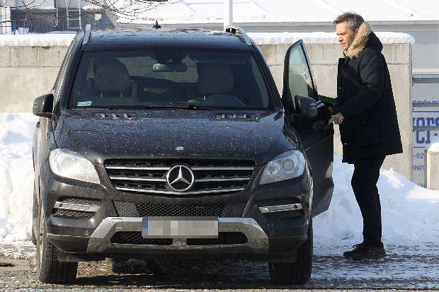 2013.02.12 Warszawa  Michal Zebrowski - Mercedes  FOT TERENT / AF EOS *** Local Caption *** Agencja Fotograficzna Eos  www.afeos.pl  + 48 502327998  mail foto@afeos.pl