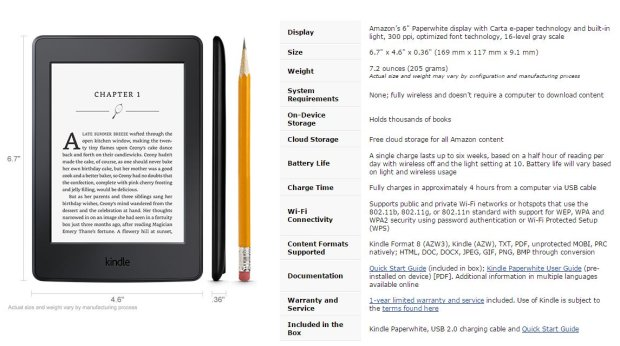 Kindle Paperweight 3