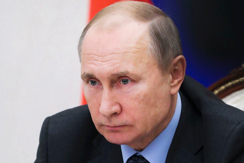 Rosja. Prezydent Władimir Putin