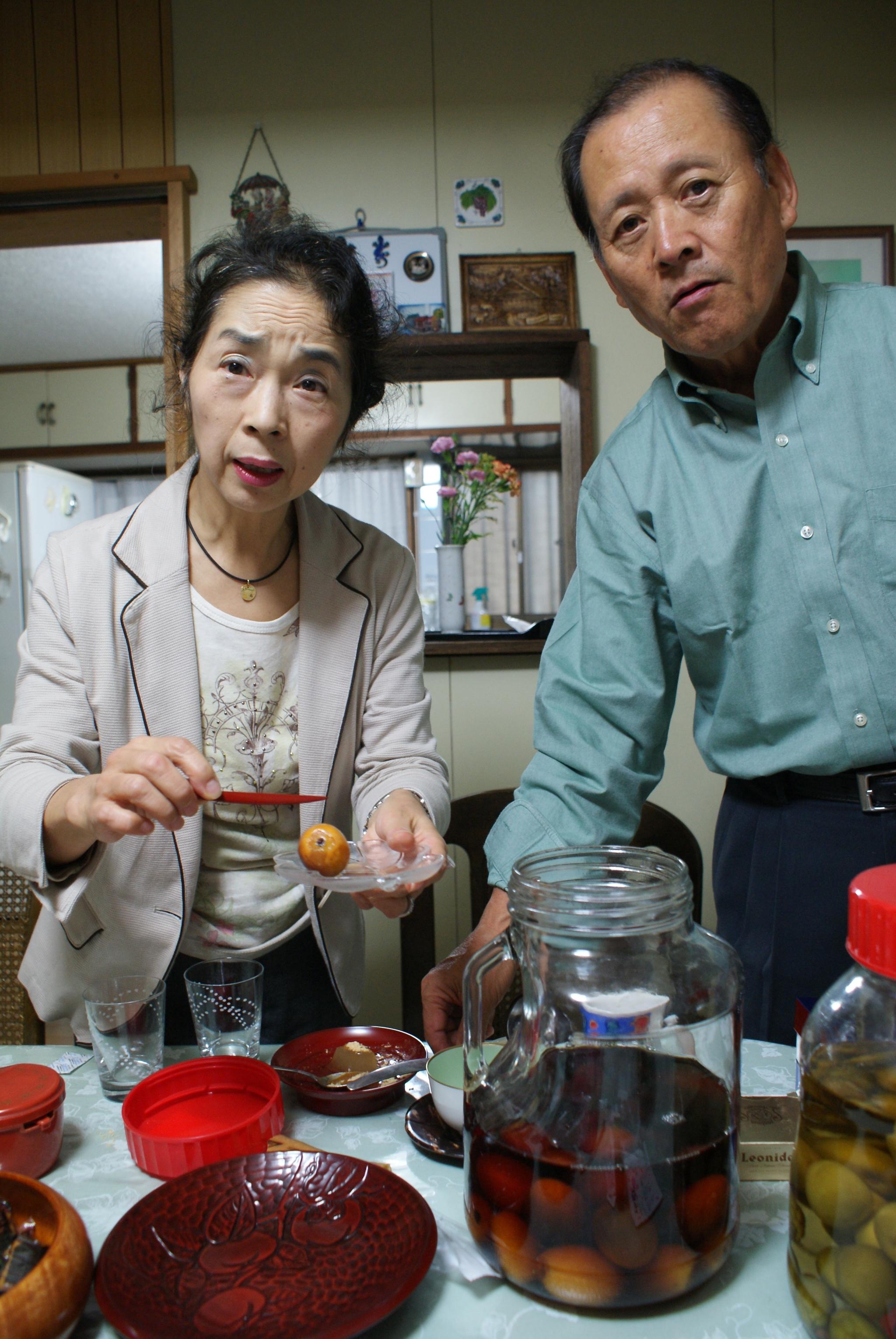 Przykładowe japońskie małżeństwo z Osaki: on - nure ochiba (definicja w tekście), a ona wszechmocna shufu (pani domu) (fot. archiwum prywatne)