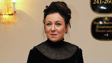 Olga Tokarczuk w Sztokholmie przed ceremonią wręczenia nagrody Nobla