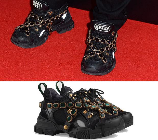 Patryk Vega w sneakersach Gucci