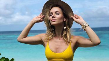 Izabela Janachowska w bikini