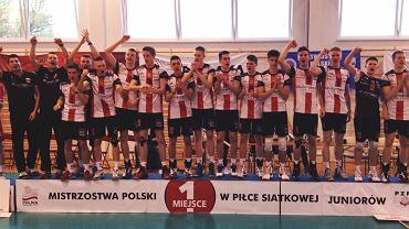 Juniorzy AKS-u Rzeszów mistrzami Polski
