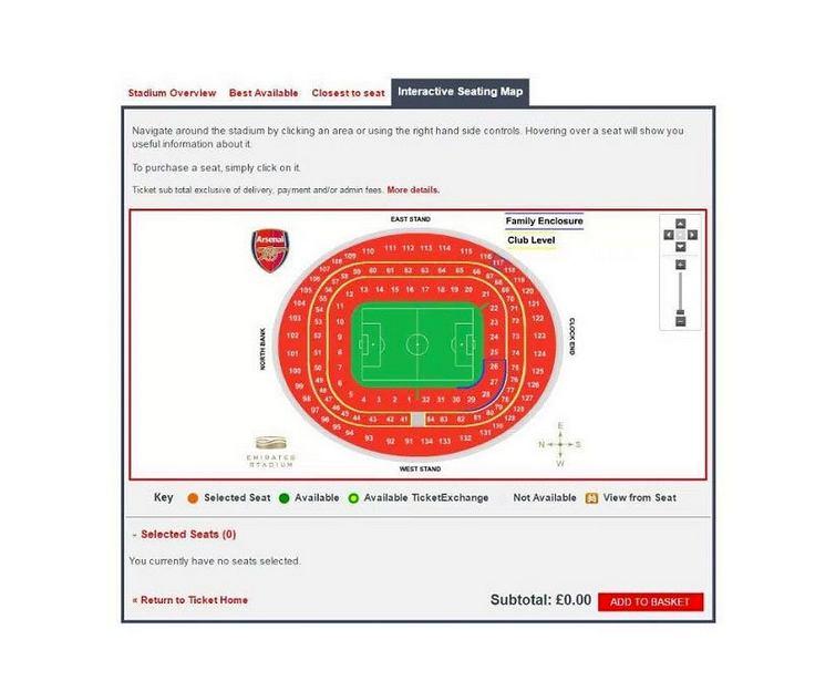 Zapełnienie trybun Arsenalu 1