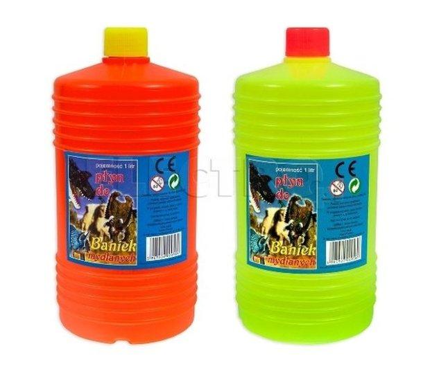 Zapas płynu do baniek mydlanych, 1 litr, cena: 7,99 zł, electro.pl