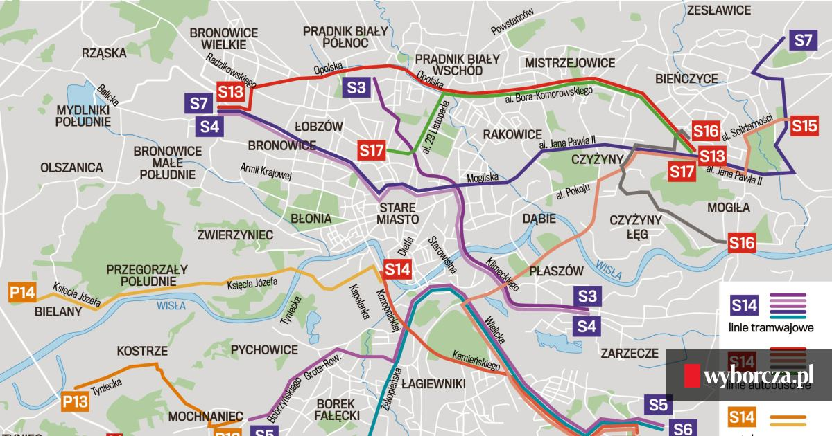 Sdm Komunikacja Miejska Pomknie Korytarzami I Buspasami Mapy