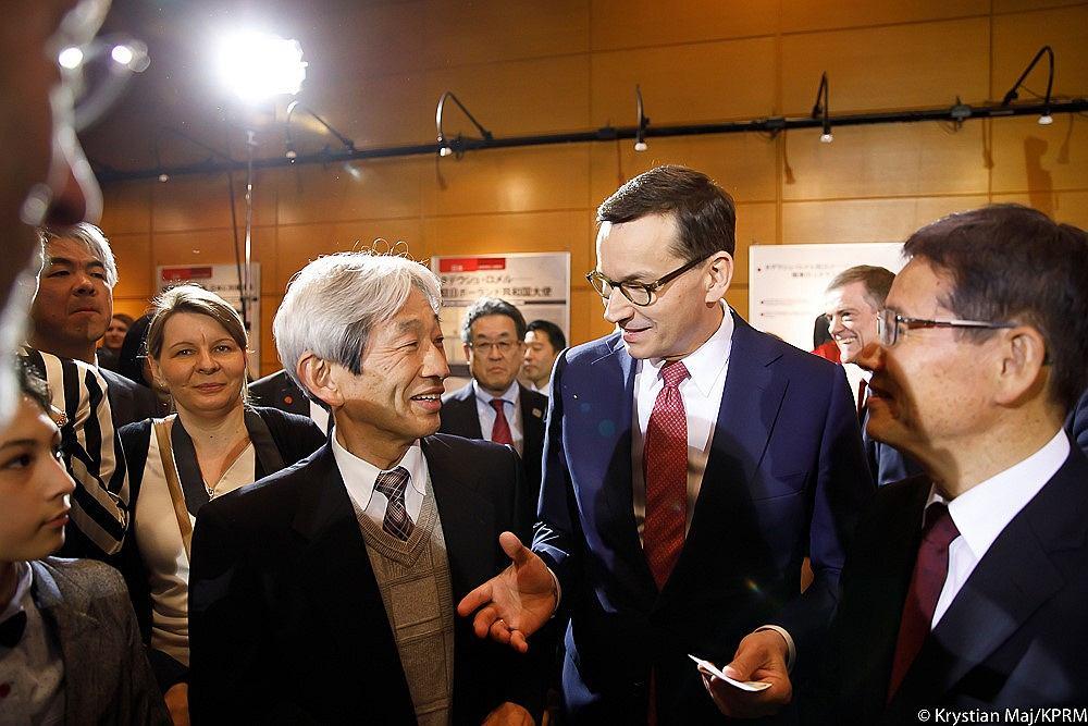 Premier Morawiecki na spotkaniu z japońskimi przedsiębiorcami mówił m.in. o CPK