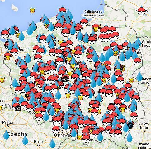 Pokemony niedostępne w Polsce? Polakom to nie przeszkadza