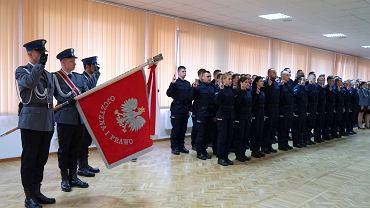 Ślubowanie policjantów w Bydgoszczy