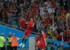 Mistrzostwa świata w piłce nożnej. Portugalia - Hiszpania. W prawdziwym meczu otwarcia mundialu Hiszpania zremisowała z Portugalią 3:3