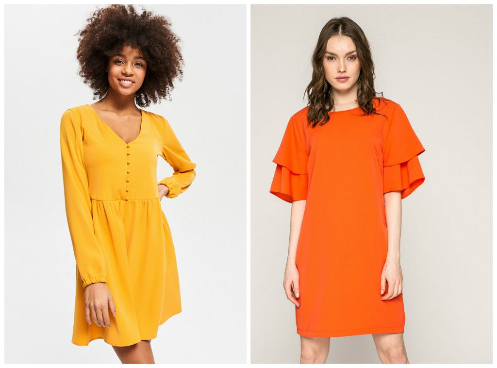 Neonowe sukienki na Wielkanoc