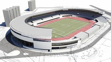 Projekt stadionu Resovii