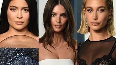 Kylie Jenner, Emily Ratajkowski, Hailey Bieber