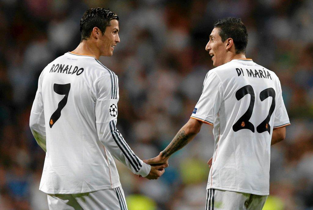 Cristiano Ronaldo i Angel Di Maria