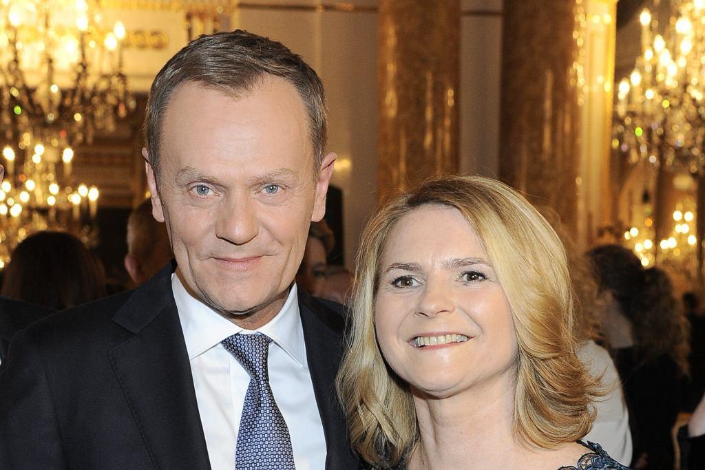 Donald Tusk z żoną