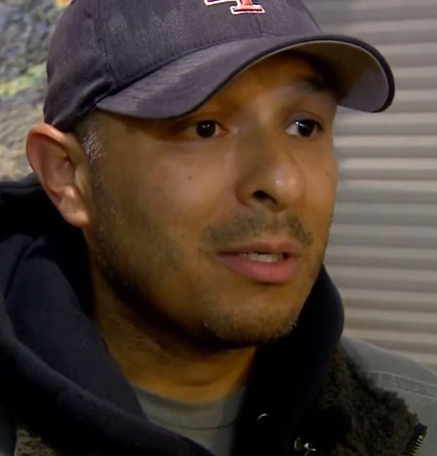 Dan Estrada uratował niewidomą Sage.