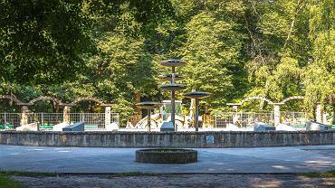 Fontanna w parku Kopernika