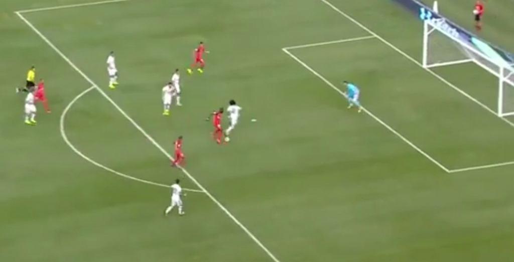 Jonathan Ikone upokorzył obronę Realu Madryt w meczu towarzyskim