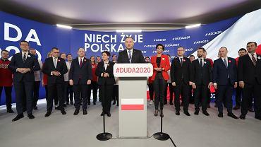 Otwarcie Sztabu Wyborczego Andrzeja Dudy, Warszawa 19.02.2020
