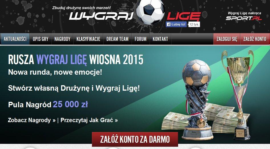 Wygraj Ligę Start Wiosna 2015