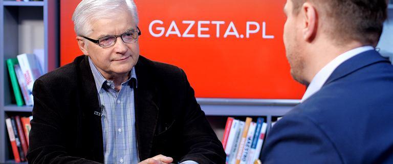 Cimoszewicz: Poza Tuskiem nie widać nikogo, kto mógłby pokonać kandydata PiS