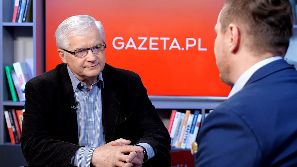 Włodzimierz Cimoszewicz w poranku Gazeta.pl