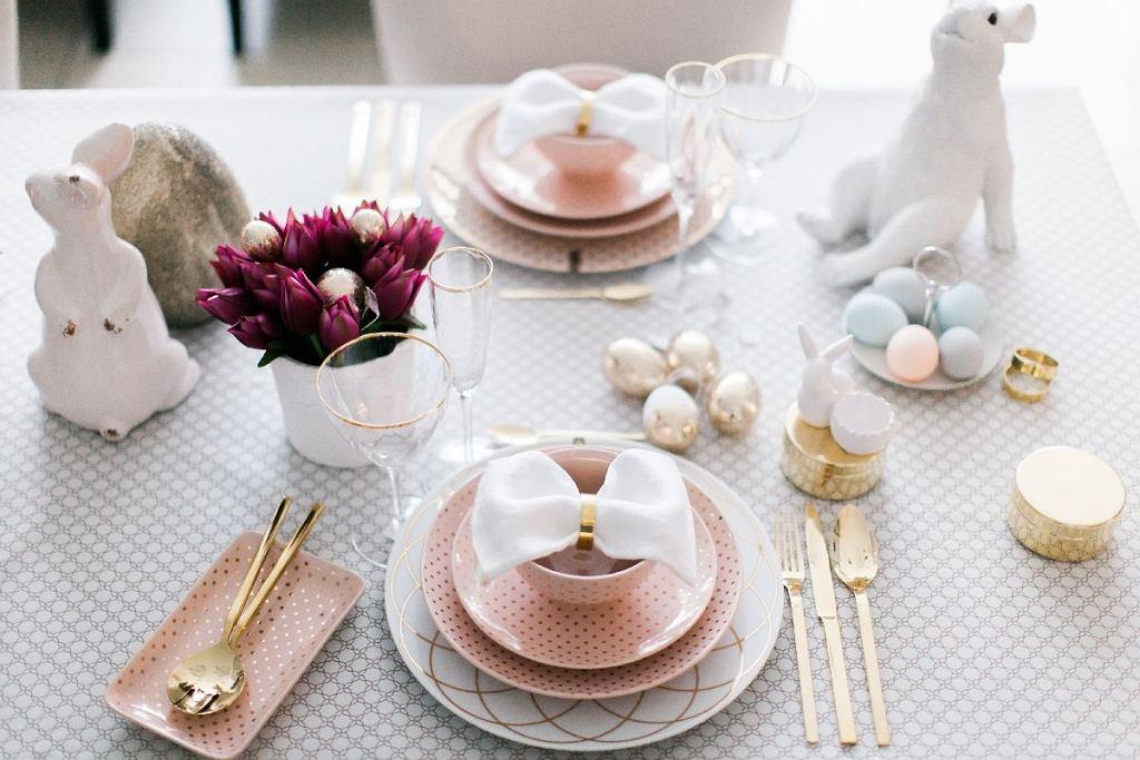 Stół na Wielkanoc w eleganckim wydaniu
