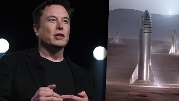Wizualizacje SpaceX na Marsie