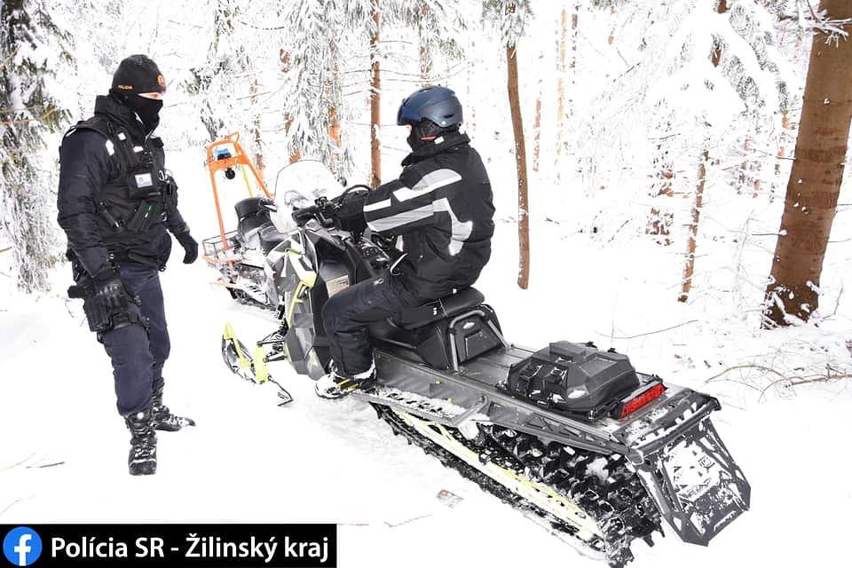 Polacy na skuterach zatrzymani w rezerwacie na Słowacji