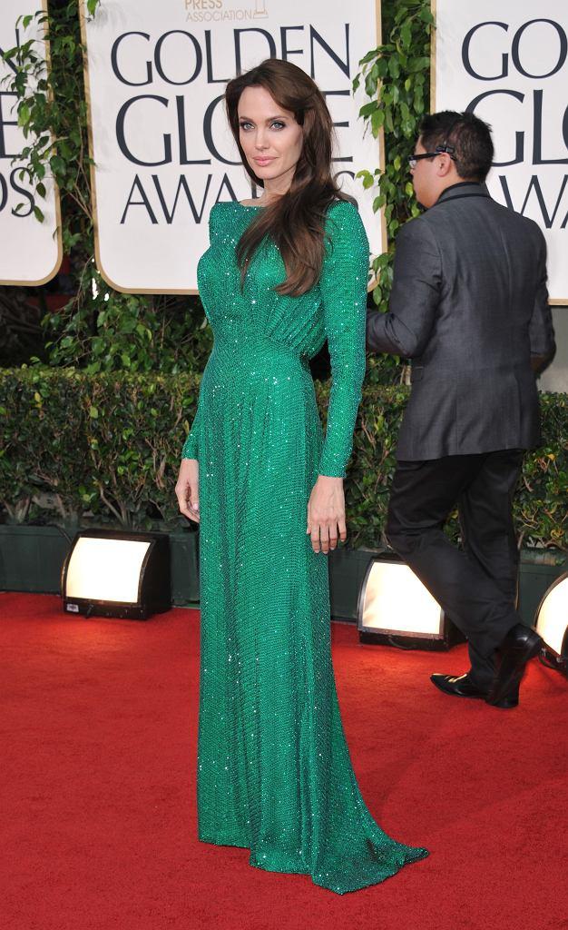 Angelina Jolie, Złote Globy 2011