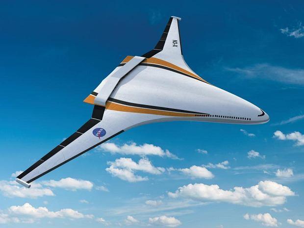 Samolot, nad którym pracuje NASA