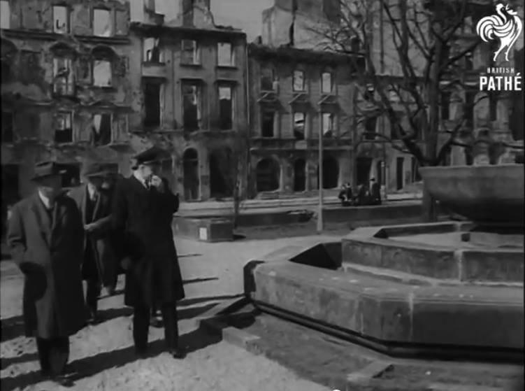 Herbert Hoover w Warszawie, 1946 rok