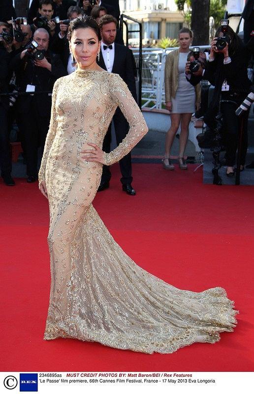 Mandatory Credit: Photo by Matt Baron/BEI / Rex Features (2346895as)  Eva Longoria  'Le Passe' film premiere, 66th Cannes Film Festival, France - 17 May 2013