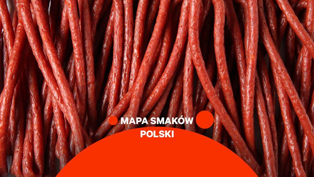 Kabanosy Mapa Smaków Polski