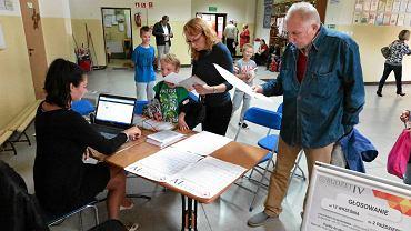 Głosowanie podczas jednej z edycji Budżetu Obywatelskiego