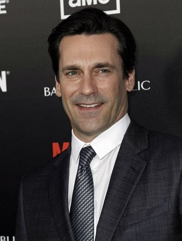 "Cast member Jon Hamm arrives at the premiere ""Mad Men"" in Los Angeles, Wednesday, March 14, 2012.  ""Mad Men"" season five premieres on AMC Sunday, March 25. (AP Photo/Matt Sayles)"