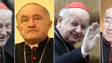 Polscy kardynałowie na konklawe: Zenon Grocholewski, Kazimierz Nycz, Stanisław Dziwisz, Stanisław Ryłko - to polscy dostojnicy, który pojadą na konklawe