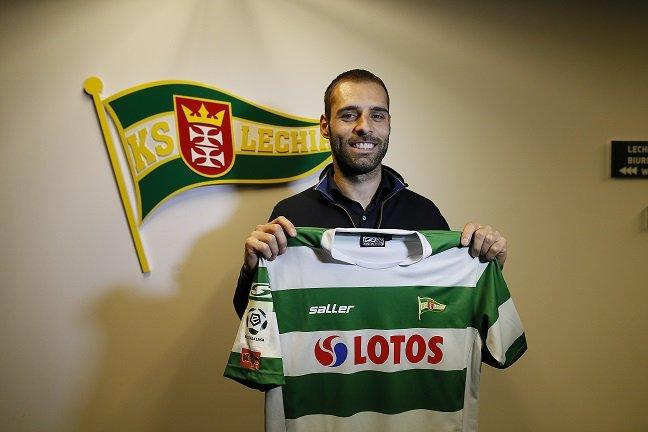 Flavio Paixao podpisał kontrakt z Lechią