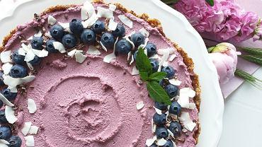 Malinowy Raw Cake autorstwa Anny Lewandowskiej