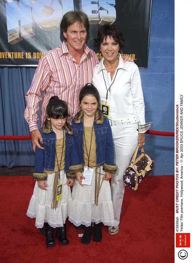 Kris Jenner z mężem i córkami: Kylie i Kendall