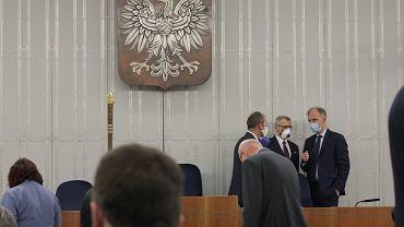 Komisje Senackie o Wyborach Prezydenckich. Warszawa, Senat, 28 kwietnia 2020