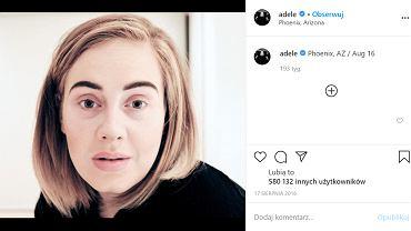 Adele przeszła metamorfozę i już tak nie wygląda. Na nowym zdjęciu jest nie do poznania