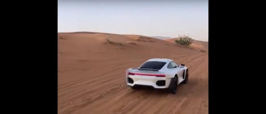 Terenowe Porsche 911 - 992 Safari Gemballa