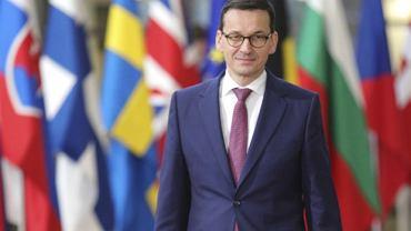 Mateusz Morawiecki na szczycie UE w Brukseli