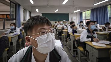 Uczniowie wrócili do zajęć w szkołach w Chinach