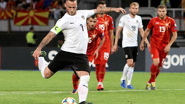 Marko Arnautovic, strzelec dwóch goli dla Austrii