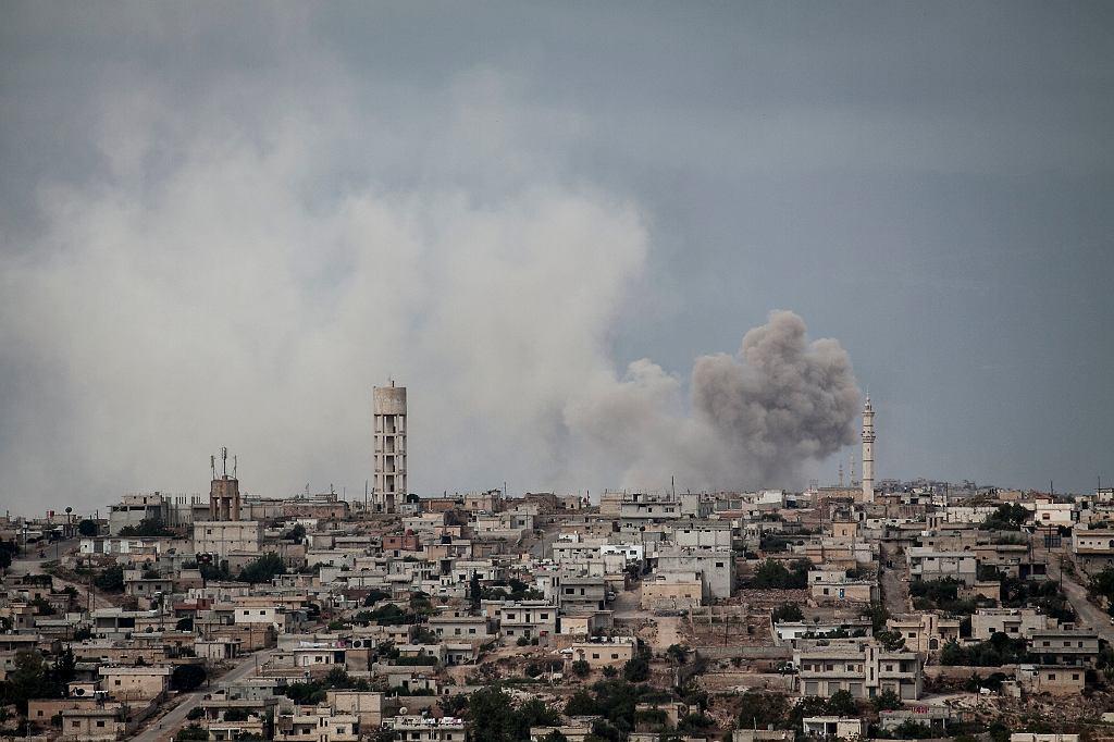 Atak na pozycje zbrojnej opozycji w Idlib