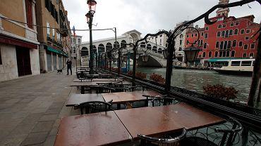 Koronawirus uderza w gospodarkę UE. Na zdjęciu Wenecja, 13 maja 2020.