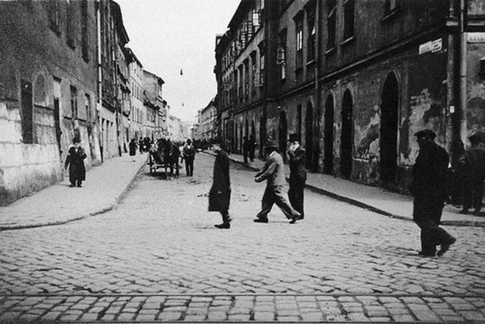 Róg ulicy Krakowskiej i Józefa